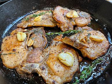 Garlic Butter Pork Chops