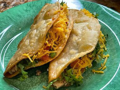 Crunchy Keto Chicken Tacos