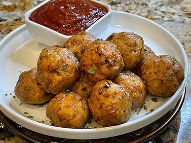 Spicy Smoky Keto Chicken Meatballs