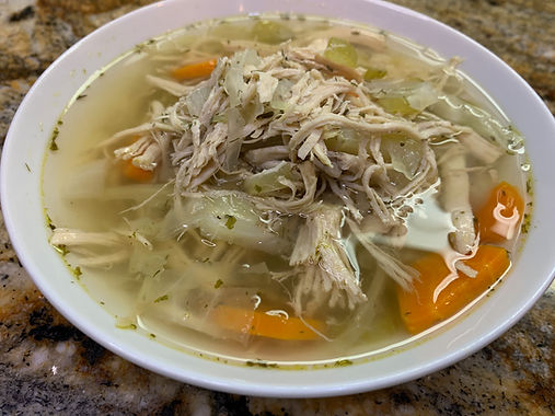 Hearty Chicken and Cabbage Soup