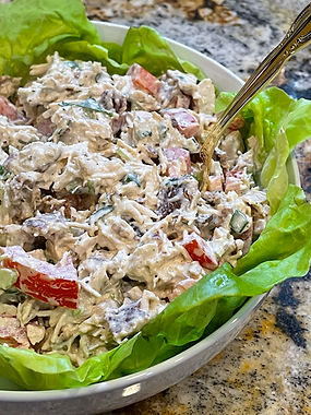 Keto / Low Carb BLT Chicken Salad