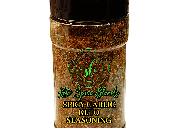 Sincerely Legenia Spicy Garlic Keto Spice Blend