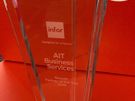 AIT Business Services Named Infor 2019 Growth Partner of the Year