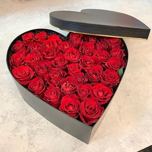 Sweetheart Fresh African Rose Box