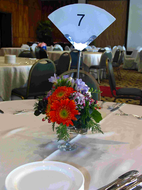 Venue Floral Table Indicator