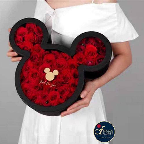 Mickey Rose Box (Black)