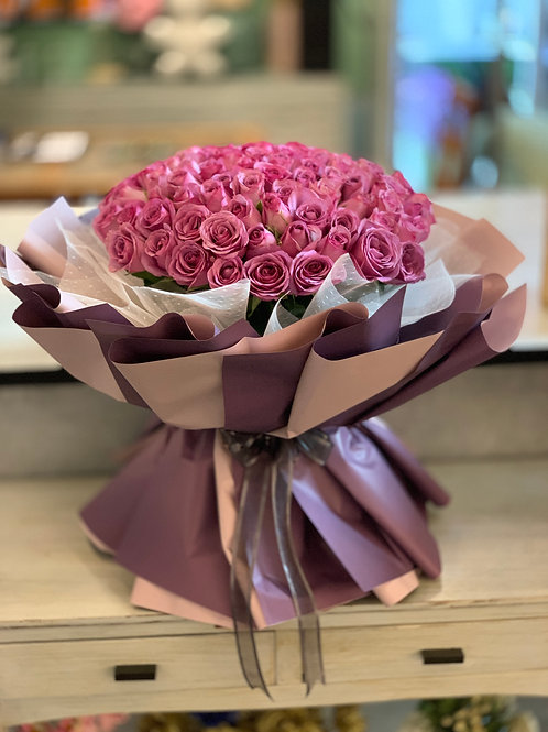 99 Love Bouquet (Purple)
