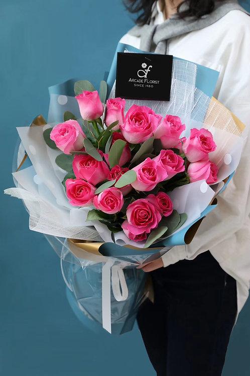 18 Love Bouquet II ( premium Kenyan rose)