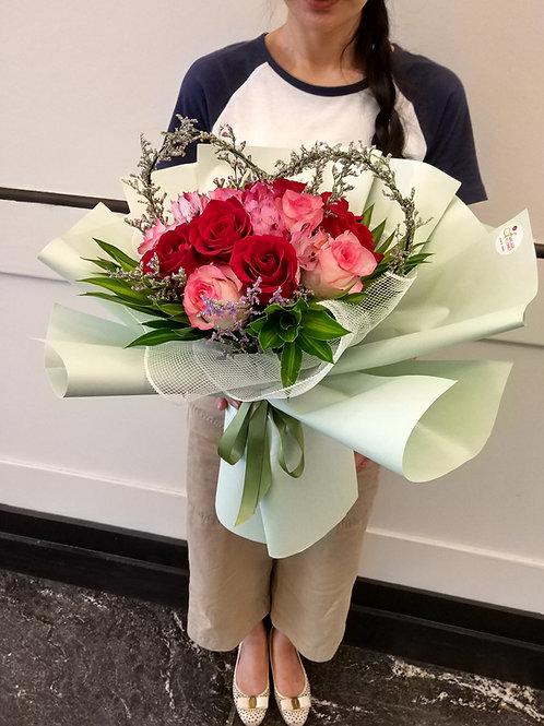 Sweetheart Bouquet (Premium)