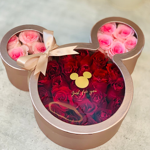 Mickey Rose Box (Rose Gold)