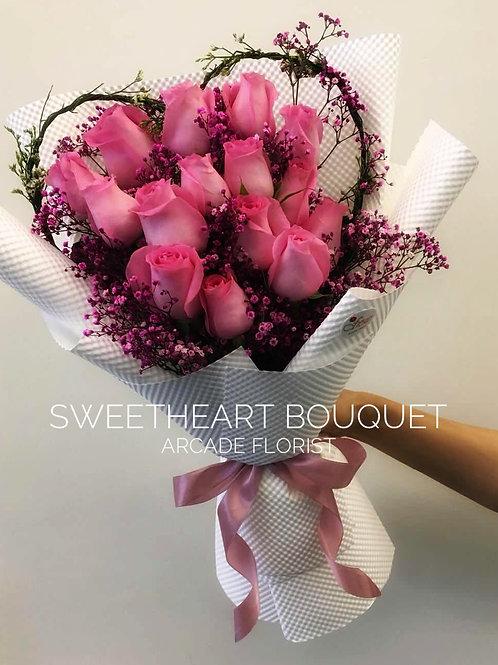 Sweetheart Rose Bouquet