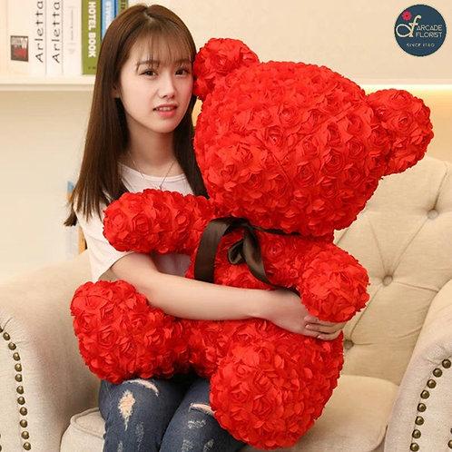 Soft Rose Teddy Bear