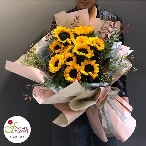 Grand Sunflower Bouquet