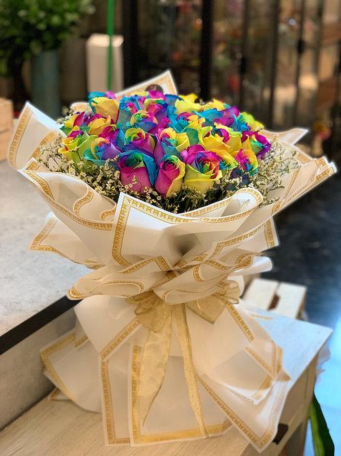 Grand Rainbow Love Bouquet