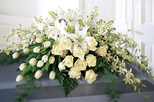 Floral Casket Spray Arrangement