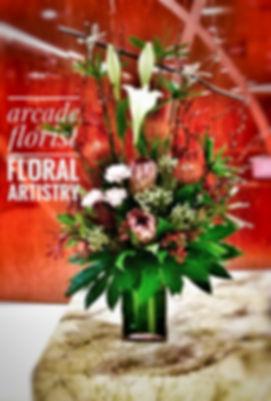 arcade florist flower design