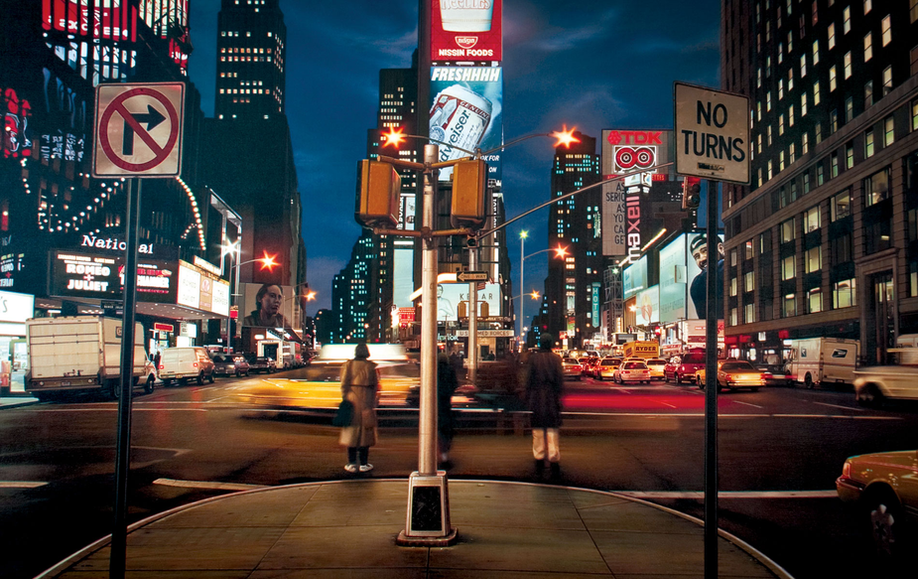 _Times Square #7, 2010, oil on linen
