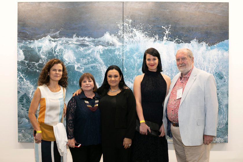 Valéria Prata, Maggie Bollaert, Tereza de Arruda, Rosie Snaith and Collen Petit