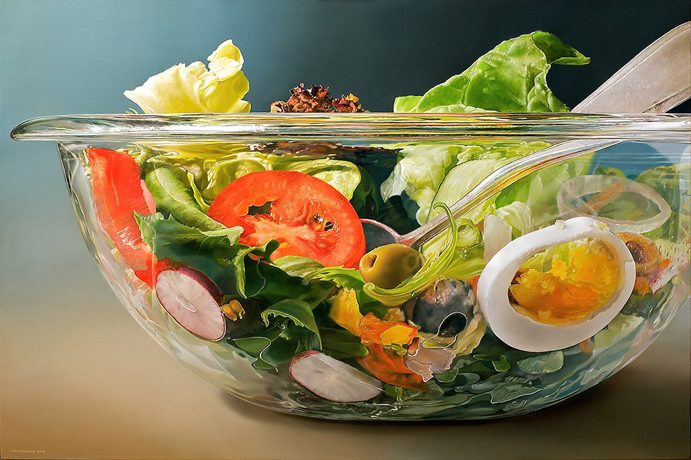 Very-Large-Salad-Bowl, 2008, 120x180 cm