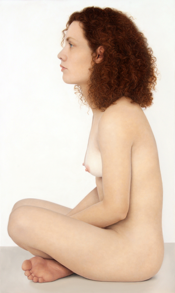 CHRISTELLE, 2014, Oil on canvas 35 1/2 x