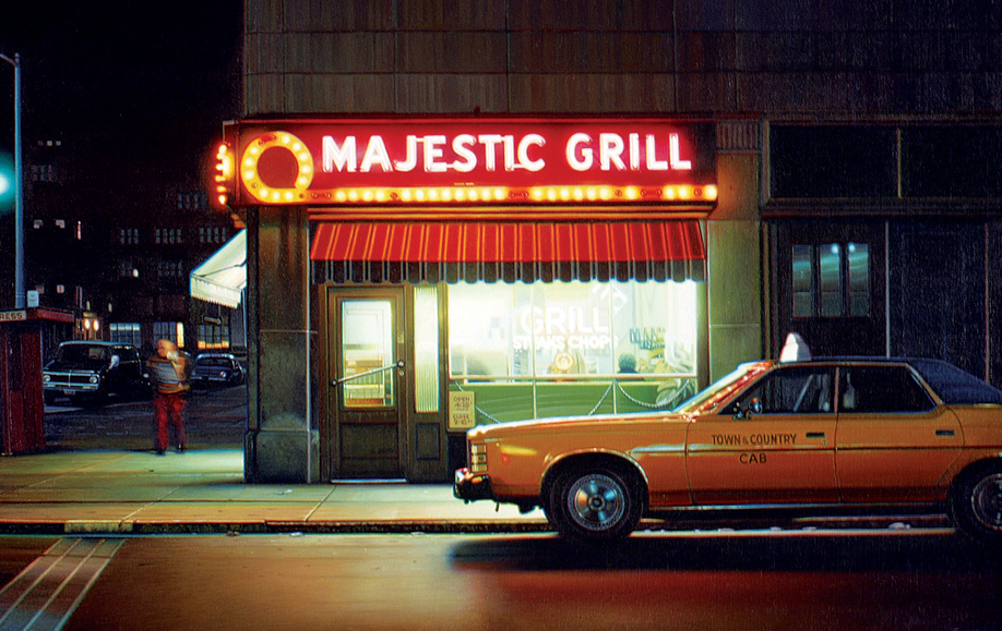 """""""Majestic Grill #4"""", 2009, oil on linen"""