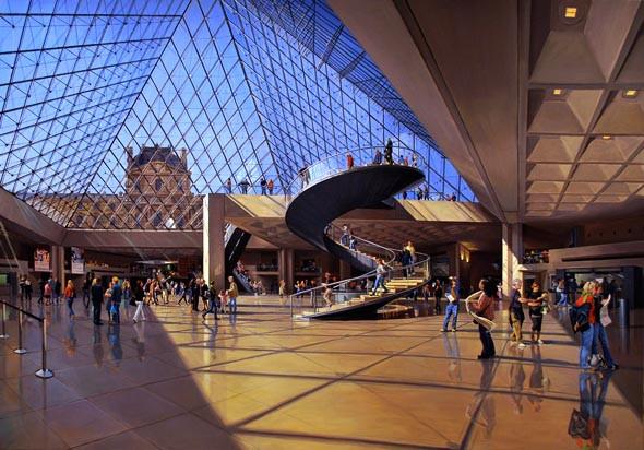 Robert Neffson Louvre Pyramid.jpg
