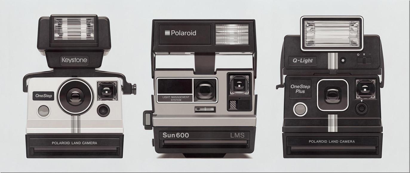 Polaroid Painting No. 1, 2017