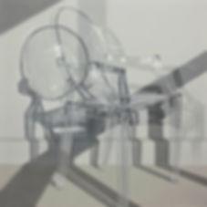 Ronald Bowen Ghost Chair, h.s.t. 120 x 1