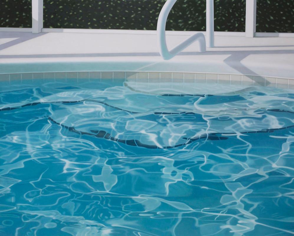 Sortie de piscine, 130 x 162 cm