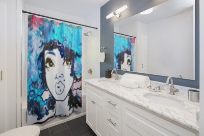 Expression Of Personality Has No Borders These Quality Shower Curtains With Print Will Add Original Touch To The Most Intimate Room Ones House