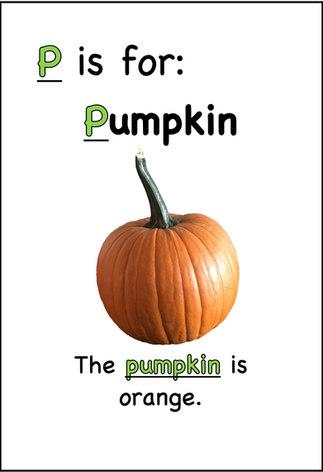The pumpkin is orange.