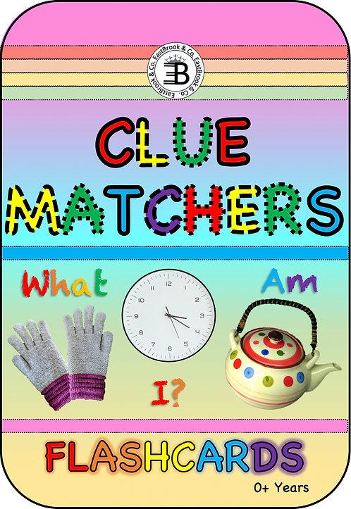 Clue Matchers Flashcards