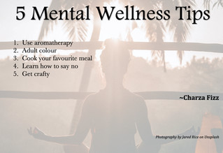 5 Mental Wellness Tips