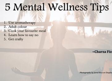 5 Mental Wellness Tips