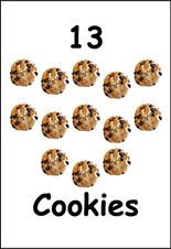 13 Cookies