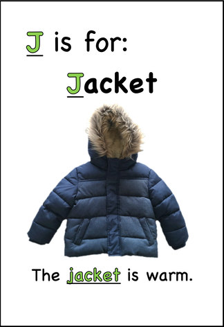 The jacket is warm.