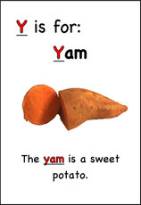 This yam is a sweet potato.