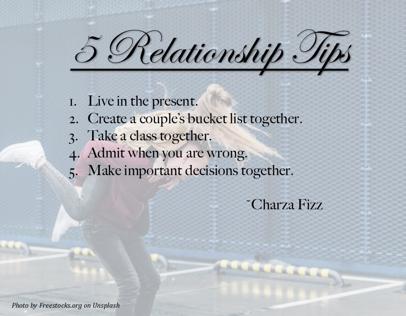 5 Relationship Tips