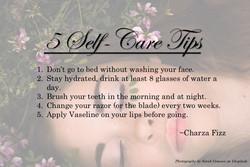 5 Self-Care Tips