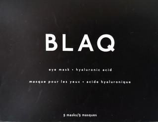 Product Review: BLAQ - Eye Mask + Hyaluronic Acid