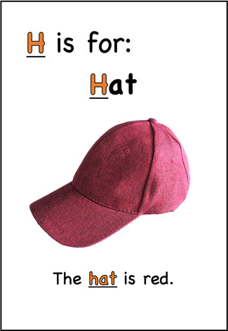 The hat is red.