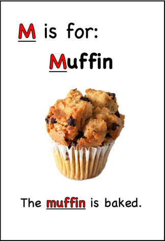 The muffin is baked.