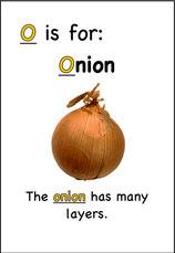 The onion has many layers.