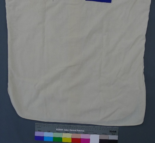 wool baseball jersey from 1960, before treatment
