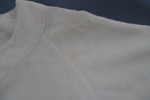 Wool Baseball Jersey from 1960, After treatment