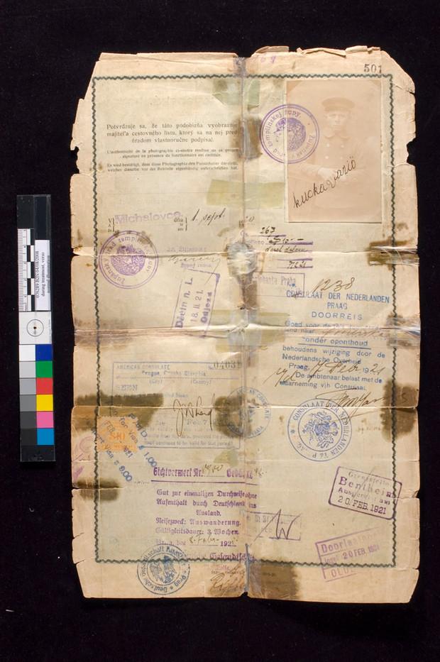 Passport before
