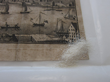 Etching during treatment