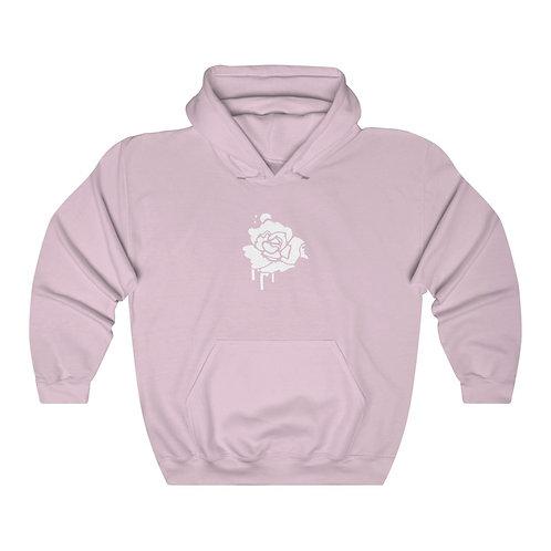 rose hoodie - pink