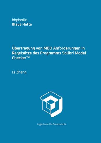 Übertragung von MBO Anforderungen in Regelsätze des Programms Solibri Model Checker™