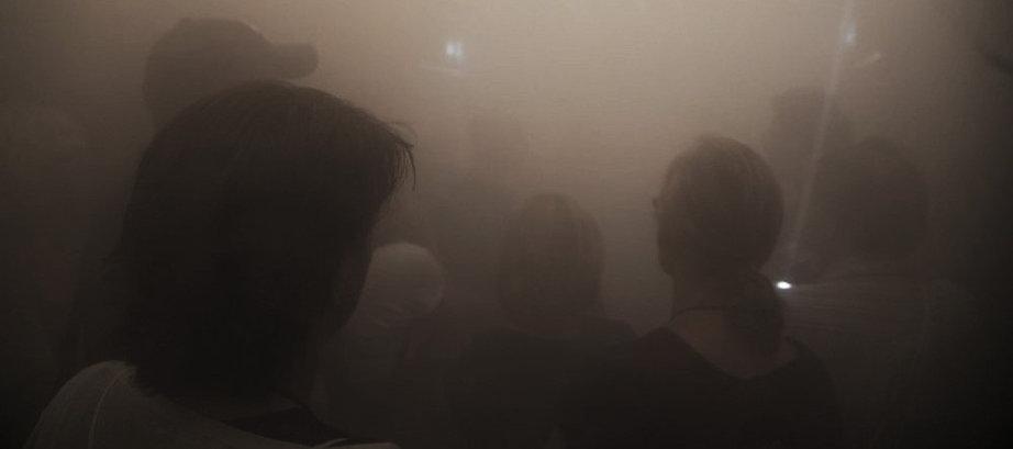 Begehbare Rauchkammer